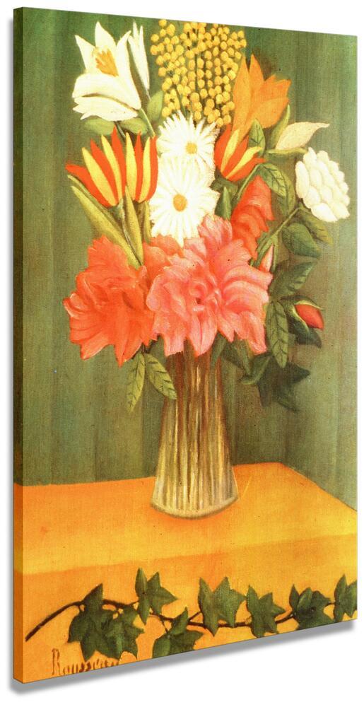 Fiori Quadri Famosi.Vaso Con Fiori 1909 Rousseau Henri Riproduzioni Di Quadri